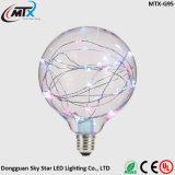 LEDの球根LEDはLEDの電球LEDの滑走路端燈のセリウムST64の暖かく白い省エネ3W LEDの星明かりの球根の装飾の照明をつける