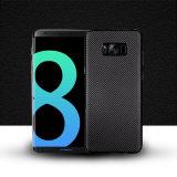 Nuova cassa molle ultra sottile del telefono di struttura del carbonio di arrivo per Samsung S8