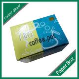 Caja elegante del té del papel de impresión modificada para requisitos particulares para el empaquetado del té