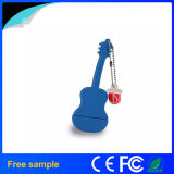 Lecteur flash USB Shaped de PVC de guitare musicale de cadeau de mode