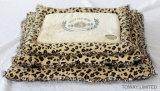 채워진 디자인 레이스 애완 동물 공급은 우단 Leparod 애완 동물 침대를 덧댄다