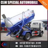 5000L 5ton Abwasser, das LKW-Abwasser-Entwässerung-LKW saugt