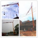 Riemenscheiben-Fertigung Simens Bewegungsschneider-elektrischer faltbarer mobiler Teilturmkran für Verkauf in Indien (MTC2030)