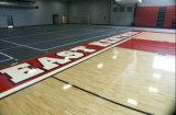 1800*65 machen den festen Ahornholz-Sport-Fußboden glatt