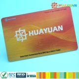 Cartão Ultralight da proximidade do PVC EV1 RFID da antena MIFARE da microplaqueta