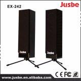 Precio audio profesional del altavoz de la columna del sistema de sonido Ex242 para la sala de conferencias
