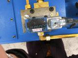 Машина металлического листа метра вырезывания Machine/2 рукоятки качания серии QC12k гидровлическая режа