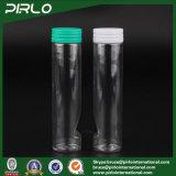 110ml de transparante Fles van de Kauwgom van de Fles van de Capsule van de Fles van de Pil van het Huisdier Plastic met Scheur van GLB