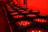 la IGUALDAD impermeable de 18PCS*10W LED puede luz de la colada de la etapa ligera de la IGUALDAD del LED