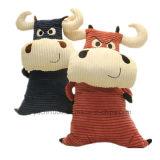 Vaca del juguete de la felpa del animal relleno del juguete de los cabritos