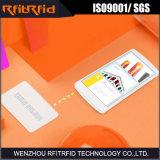 tarjeta de papel pasiva de 13.56MHz Pritable NFC para el asunto