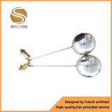 Válvula de bola de cobre amarillo de la marca de fábrica de Intelsheng