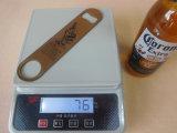 Консервооткрыватель бутылки плоского пива металла логоса печатание нержавеющей стали