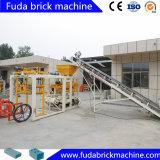 Brique pleine de cendres volantes de bloc semi automatique de cavité faisant la machine