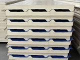 0.8mm PPGI Stahl-PU-Zwischenlage-Panel, Wärme-Isolierung PU-Zwischenlage-Panel