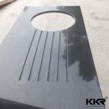 Custom Made Solid Surface Kitchen Countertop Mármore Vanity de banheiro