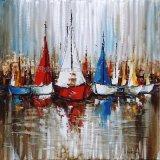 Óleo abstracta pintura del arte para la decoración del hogar