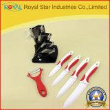 """3-6 das """" a faca de cozinha cerâmica vendas por atacado 6PCS ajustou-se (RYST0089C)"""