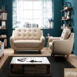 Modernes Freizeit-Wohnzimmer-Leder-Sofa-und Leder-Sofa-Set