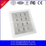 Mini telclado numérico impermeable del metal para el uso de la entrada de la puerta