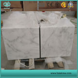Bianco自然な石造りのカラーラの白い大理石の彫像用の白い大理石