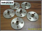Cobre/CNC de cobre amarillo de la alta precisión que trabaja a máquina piezas modificadas para requisitos particulares