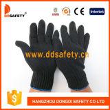 Luvas de algodão ou poliéster preto Ddsafety 2017