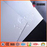 Panneau composé en aluminium nano de la surface PE/PVDF d'Ideabond pour l'usage d'intérieur