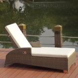 Silla de cubierta plegable del ocioso de aluminio de la piscina del hotel de la silla de playa del patio