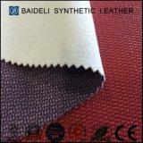 Cuero respetuoso del medio ambiente del PVC del vinilo de la tela de tapicería de los muebles para Sofa&Furniture&Bags