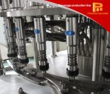 Máquina de rellenar de cristal del vino rojo de Gottle de la eficacia alta con el embotellamiento y la empaquetadora