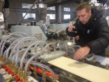 El panel de pared del PVC de la alta calidad que hace la máquina
