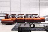 Beste Preise für Wohnzimmer-Leder-Sofa-Ausgangsmöbel (HX-FZ020)