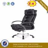 가죽 사무용 가구 크롬 금속 행정실 의자 (HX-NH009)