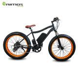 26 '' 4.0 Fat Tire Vélo de montagne électrique avec suspension avant Fourche