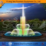 Tipo fuente del agua de la combinación del diseño de Seafountain de la música