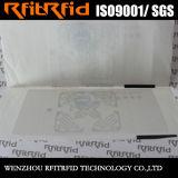 Largo antirrobo imprimible de la frecuencia ultraelevada de la aduana sonó el documento que seguía la etiqueta engomada de la etiqueta de RFID para los archivos