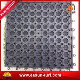 Natuurlijk kijk de Met elkaar verbindende Kunstmatige Plastic Mat van het Gras voor de Speelplaats van Kinderen