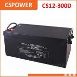 Batterie exempte d'entretien de gel de Cspower 12V 300ah - batterie USP, ENV