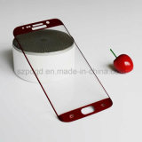 película protectora curvada 9h de la pantalla del vidrio Tempered del borde 3D para el protector de la pantalla del borde de Samsung S6