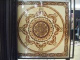 Плитки ковра пола фарфора Polished золотистой живущий комнаты кристаллический