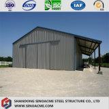 Edifício de frame de aço modular pré-fabricado para a vertente/armazém