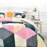 3部分オレンジカラー陰の綿の慰める人の寝具