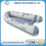 空気マットの床(TF-AM)が付いているPVC/Hypalonの膨脹可能なボート