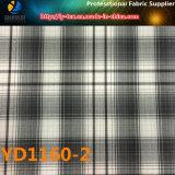 폴리에스테 Shirting 직물, 털실은 염색했다 검사 직물 (YD1160)를