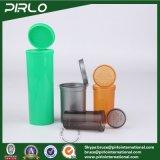 50ml, 80ml, 120ml, medicina vuota superiore del tubo di pillola 240mlcolor di schiocco di plastica della bottiglia imbottiglia Vails di plastica farmaceutico per la pillola