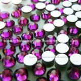 Het ronde Glas parelt vlak terug het niet Hete Bergkristal van de Moeilijke situatie voor verfraait (fB-Ss10 de rang van amethyst/3A)