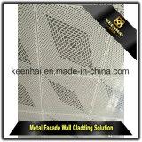 장식적인 금속 장 알루미늄 관통되는 외벽 클래딩