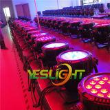 Im Freien Dekoration LED NENNWERT kann 18PCS*10W RGBW 4in1