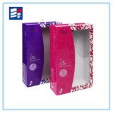 Caja de regalo de papel de impresión offset colorido hecho a mano para embalaje Gfit